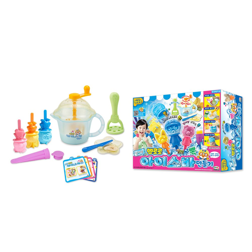 Mimi World Pororo Make Ice Bar With Mom Make An Interesting Pororo Ice Bar With Mommy