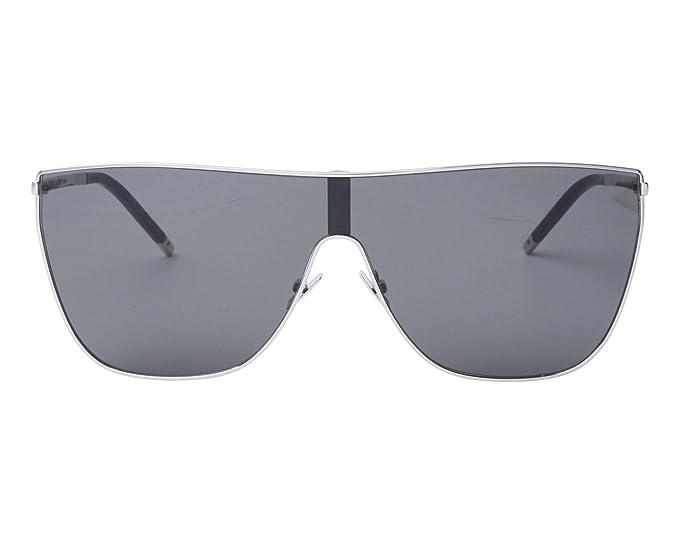 Amazon.com: Gafas de sol Yves Saint Laurent Mask (Mask SL-1 ...