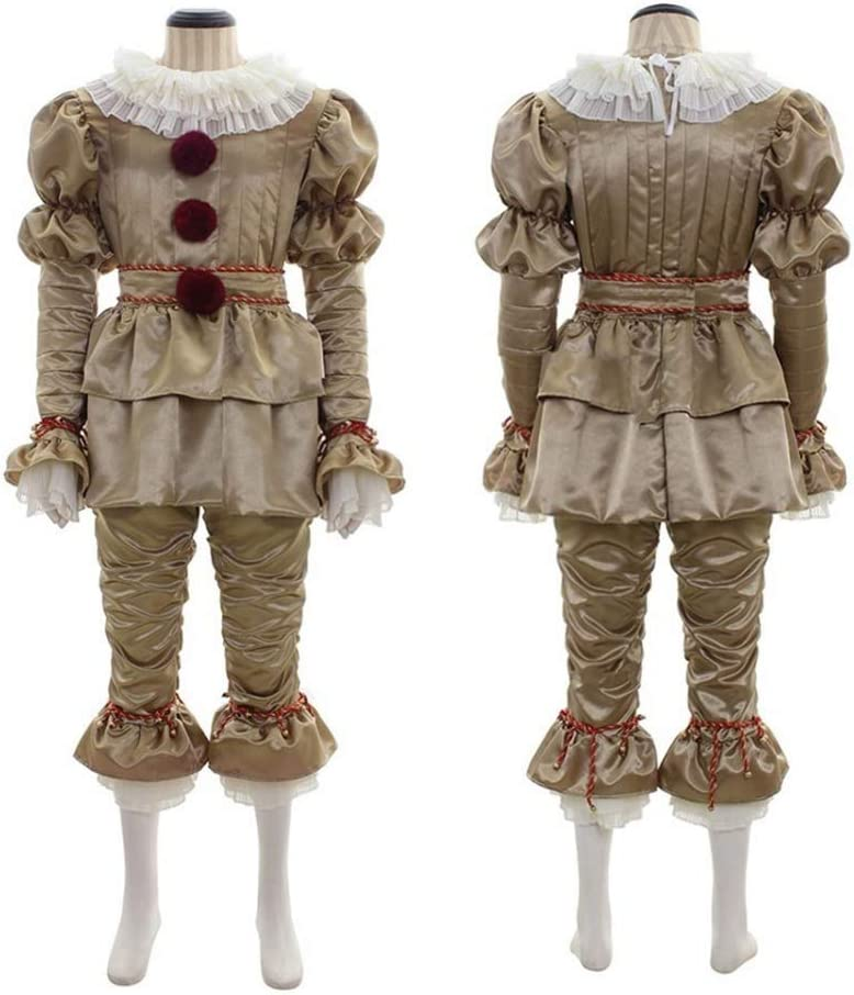MBEN Disfraz de Payaso de Halloween, Stephen KingS It COS Penney ...