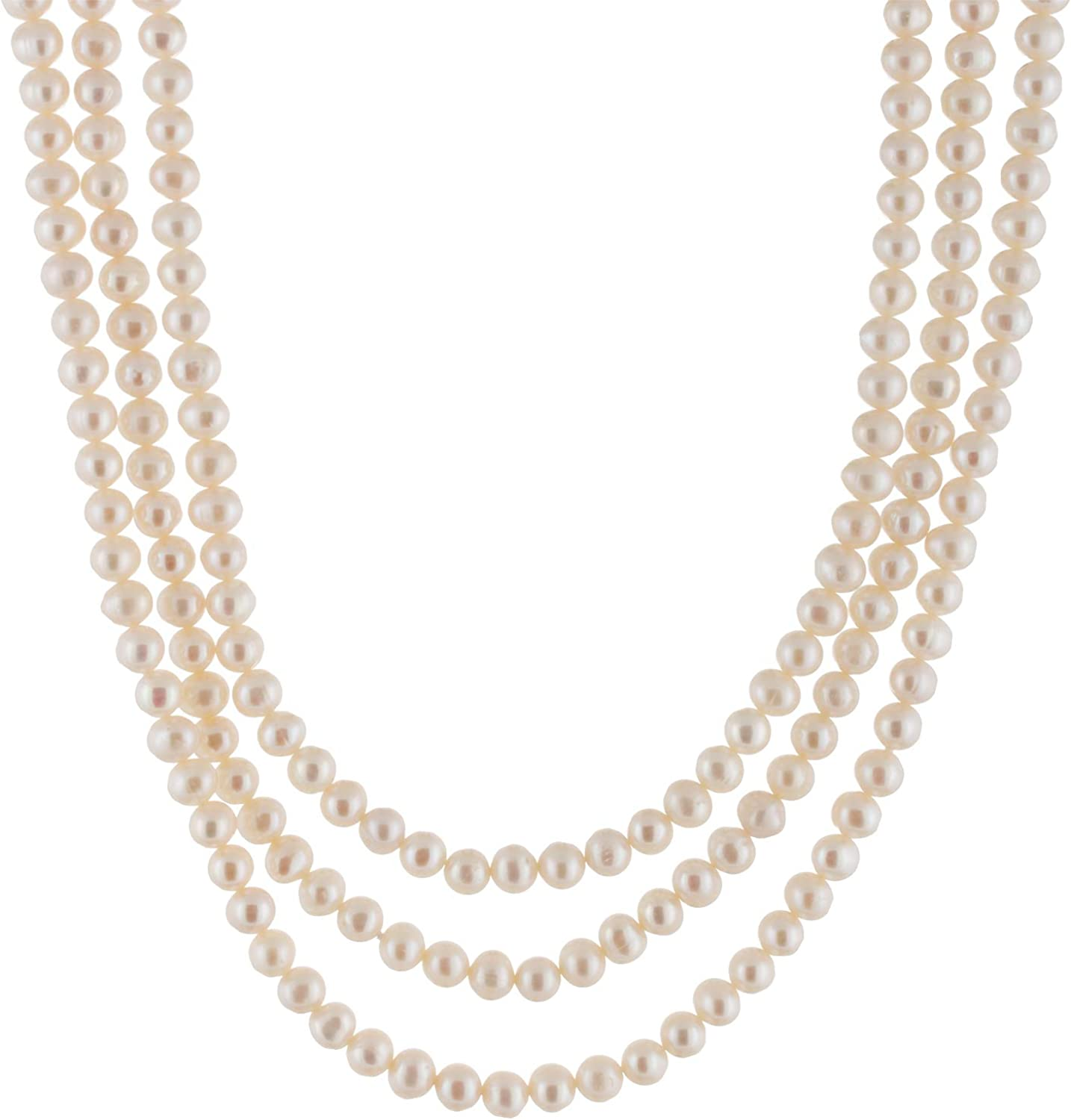 Handpicked A Quality 9-10mm Black Freshwater Cultured Pearl Strand Endless 80 Necklace