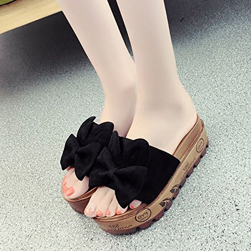 Qingchunhuangtang@ Sommer Sandalen Dick Unten Hausschuhe Hausschuhe Und Sandalen.