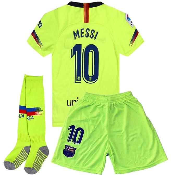 Amazon.com: Giskoel Messi #10 Barcelona Away - Camiseta de ...