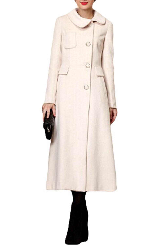 Herbst und Winter Coat Damen Kaschmir lang Trench Coat Wollmantel
