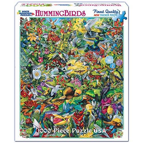 White Mountain Puzzles Hummingbirds Jigsaw product image