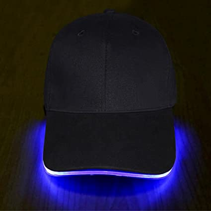 0fa37381373 Amazon.com   LED Hat - Ultra Bright Lights Unisex Baseball Cap One ...