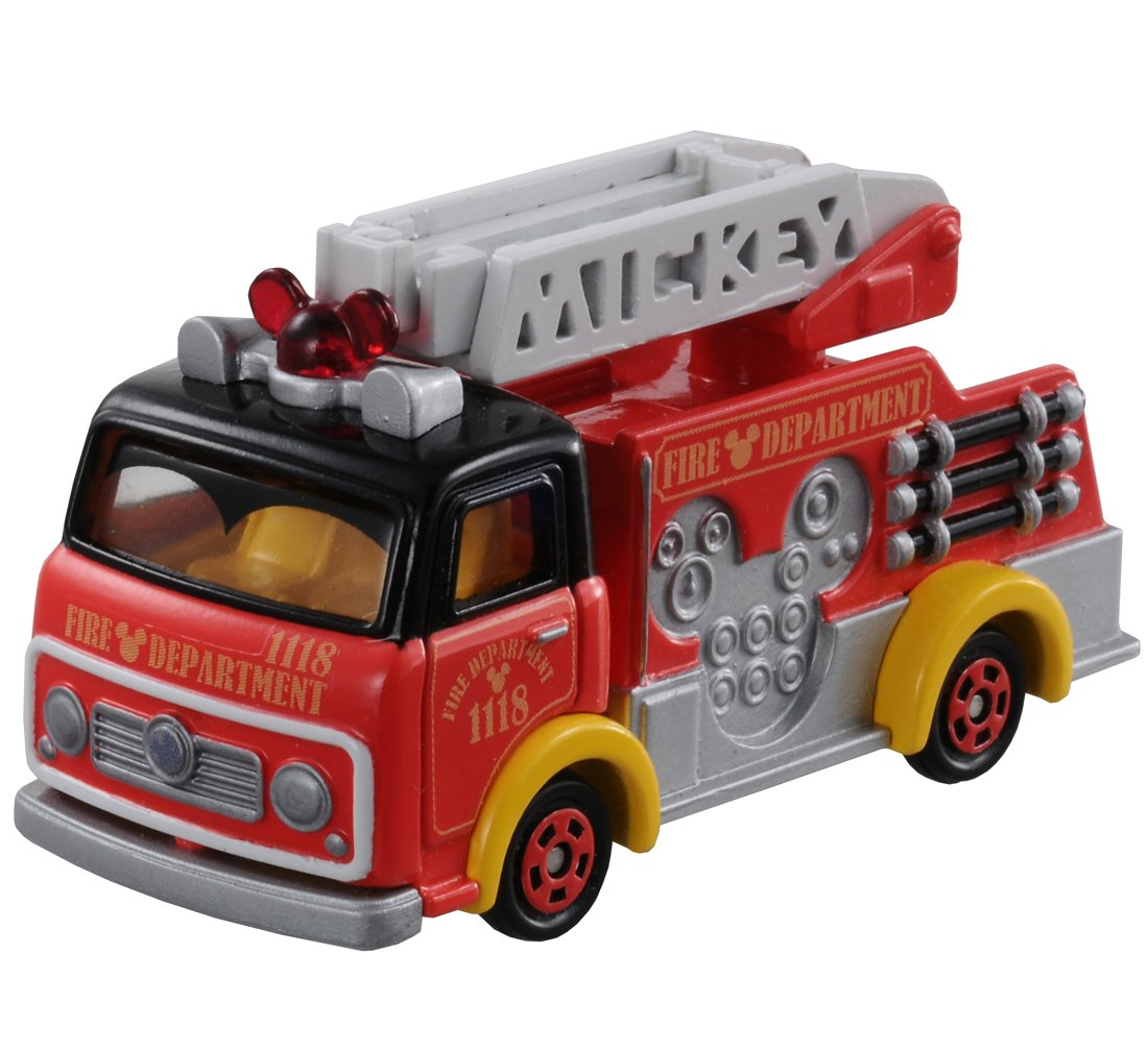 Tomica Disney Motors DM-17 fire truck Mickey Mouse (provisional) TOMY Company Ltd 835035