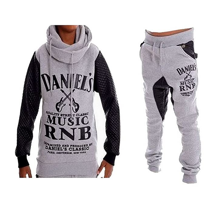 Daniels-Chándal de tiro bajo y-Sudadera de cuello de chal ...