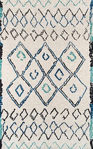 Momeni Rugs Margaux Table Tufted Contemporary Geometric Area Rug