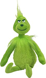 Ablest Grinch Movie Grinch Plush Ornament for Christmas,Plush Doll Grinch Plush Gift Green