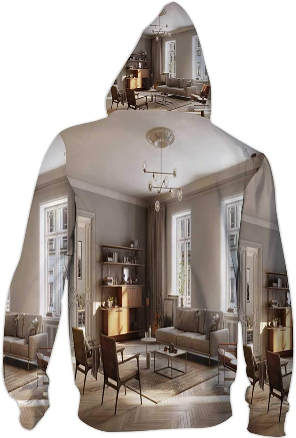 Full Furnished Living Room Germany,Ladies Full Zip Fleece with Pocket Luxury S