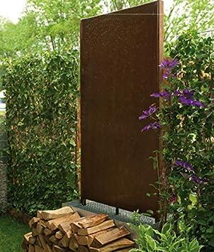 Manufaktur von Doberstein Wasserwand aus Cortenstahl Outdoor: Amazon ...