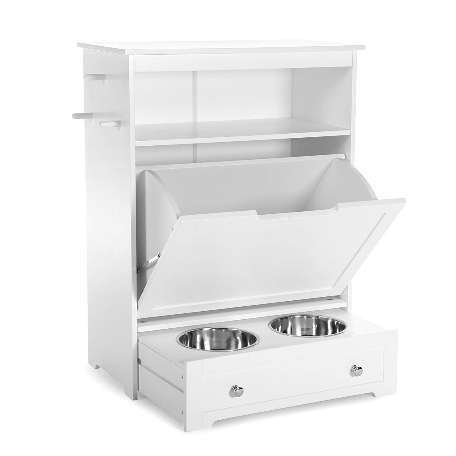 Amazon.com : Boomer U0026 George Pet Feeder Station Furniture Built In Home  Kitchen Laundry Room : Pet Supplies