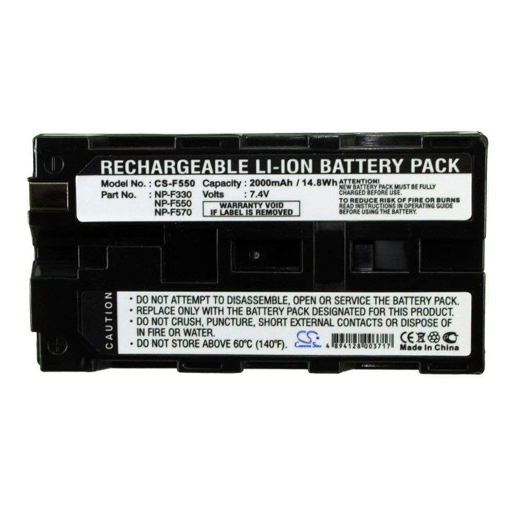 LULUVicky 2000mAh / 14.8Wh 3.7V batería de cámara para ...