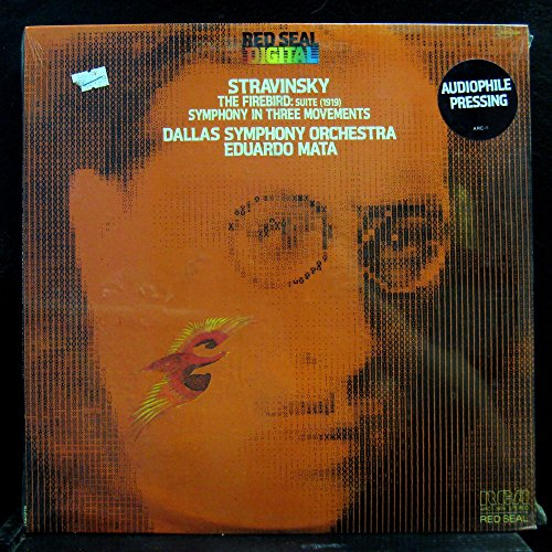 Eduardo Mata Stravinsky The Firebird Suite vinyl record
