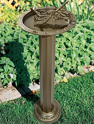 K&A Company Roman Outdoor Pedestal, 8'' x 26'' x 15 lbs, Oil Rubbed Bronze by K&A Company (Image #3)