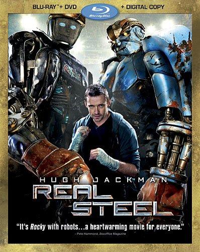3 Disc Combo (Real Steel (Three-Disc Combo: Blu-ray/DVD + Digital Copy))