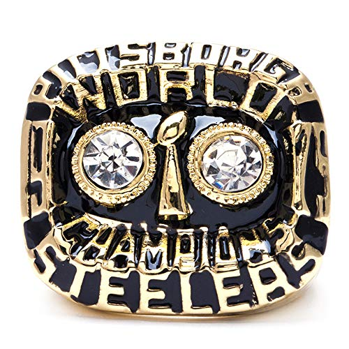 MVPRING Super Bowl 1966-2019 Championship Ring (Size 11) (Size 11, 1975 Pittsburgh Steelers)