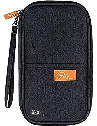 RFID Travel Passport Wallet, Family Passport Holder, Trip Document Organizer P.Travel Series