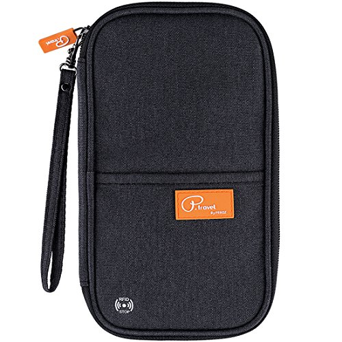 VanFn RFID Travel Passport Wallet, Family Passport Holder, Trip Document Organizer P.Travel Series