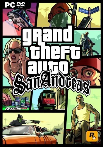 Grand Theft Auto GTA San Andreas Game PC: Amazon co uk: PC & Video Games