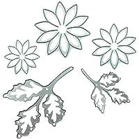 DIPOLA Metal Cortador de Corte de Flores Nuere Troqueles Plástico Reutilizables para Hacer Rosa Delicado Tarjetas