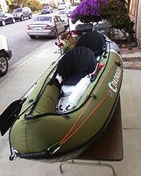 Sevylor inflatable colorado hunting and for Sevylor coleman colorado 2 person fishing kayak