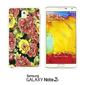 OnlineBestDigital - Flower Pattern Hardback Case for Samsung Galaxy Note 3 N9000 - Red Roses