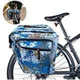 Sunshine smile Bolsas Bicicletas traseras,Bolsa Doble Bicicleta,alforjas Bicicleta Impermeable,Pannier Bag,alforjas…