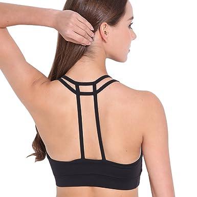 fccf9fd413 Meiyuan Lady Fashion Sports Yoga Bra Soft Breathable Push-up Strappy Underwear  Top