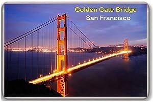 San Francisco/Golden Gate Bridge/fridge/magnet