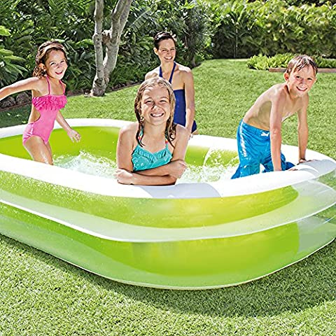 Intex Inflatable Swim Center Family Lounge/Kiddie Pool, Made of Vinyl - Seahawk 200 Inflatable Boat
