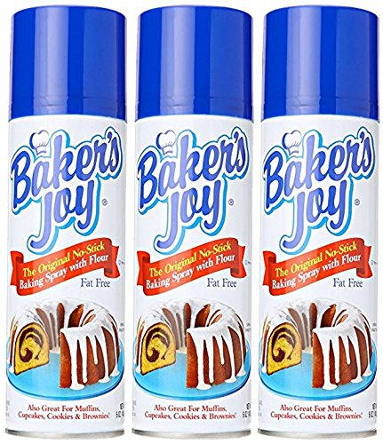 Bakers Baking Spray, 5 Oz (Pack of 3)