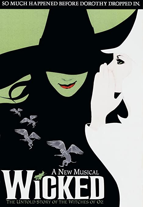 Amazon.com: Wicked Broadway Musical carteles 27 en X 40 en ...