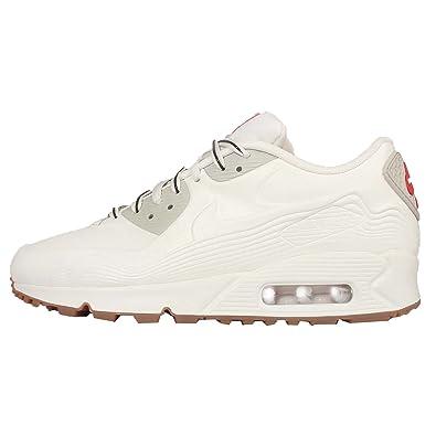 Women\u0026#39;s Nike Air Max 90 VT TOKYO Running Shoes White/Light Beige 813153-100