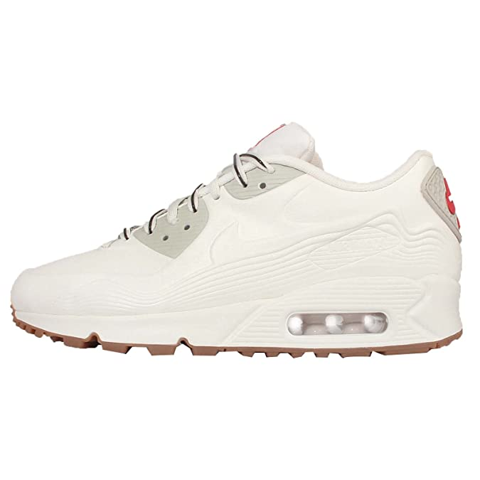 pretty nice 30d52 dde06 Amazon.com   Nike Women s Air Max 90 Vt (813153-100) 8 White   Running