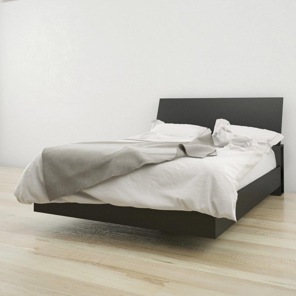 Nexera Platform Bed Bundle Black-Full