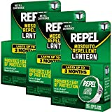 Repel 3 Pack Mosquito Repellent Lantern Refill Cartridges Anti-Insect Outdoor Yard Camping