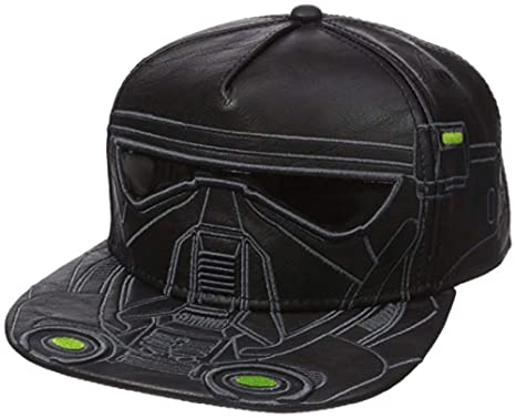 a8a1dff095c bioworld Men s Star Wars Rogue Death Trooper Pu Snapback Cap
