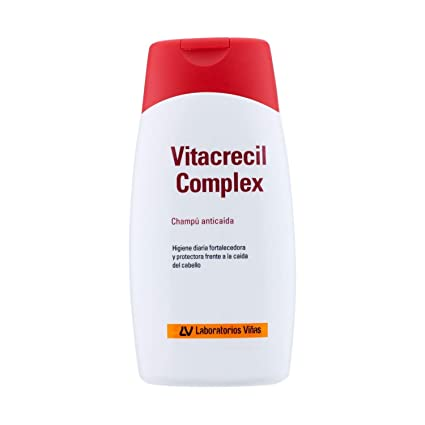 VITACRECIL COMPLEX CHAMPU ANTICAIDA 2x200ml: Amazon.es: Belleza