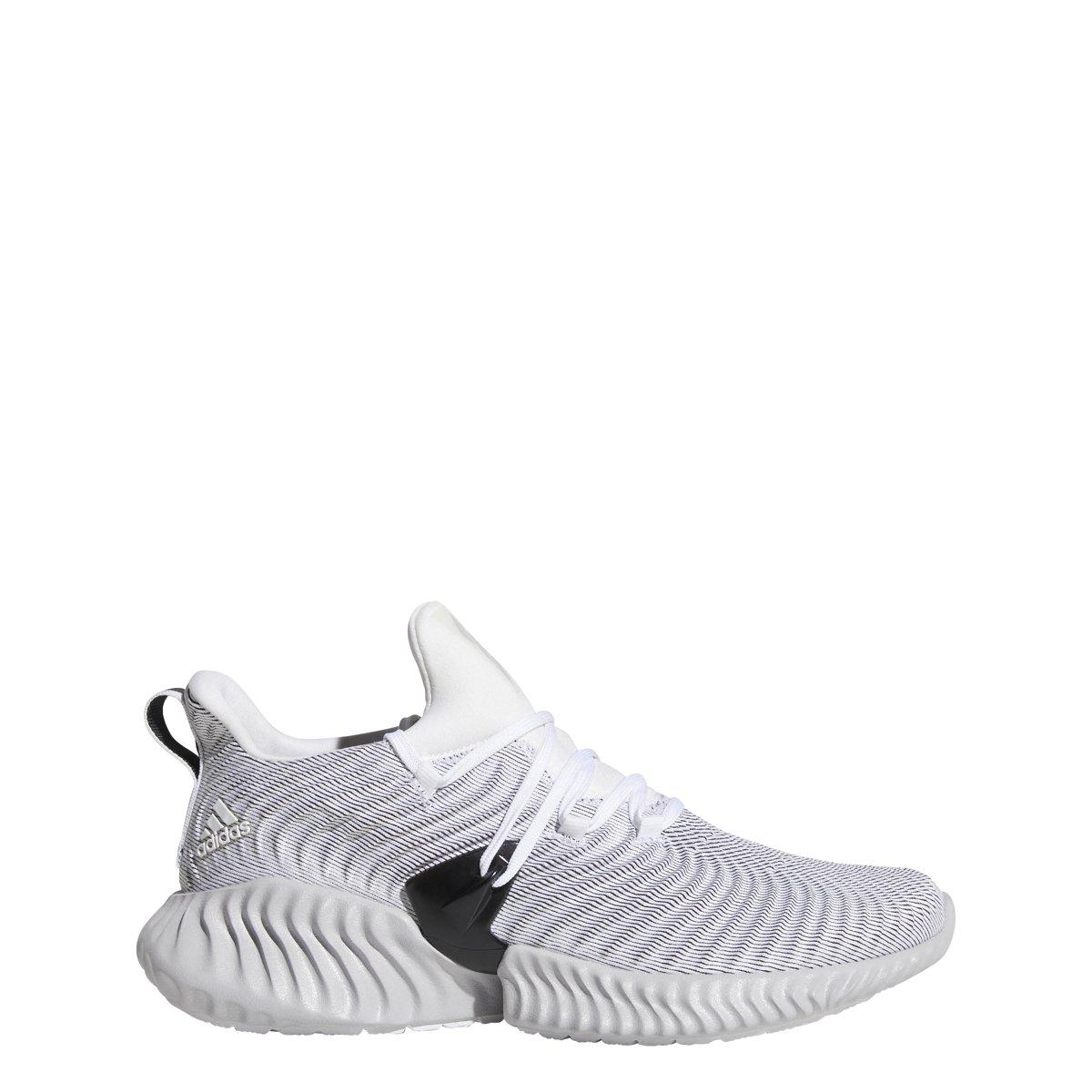 White-Grey-Black adidas Alphabounce Instinct shoes Women's Running