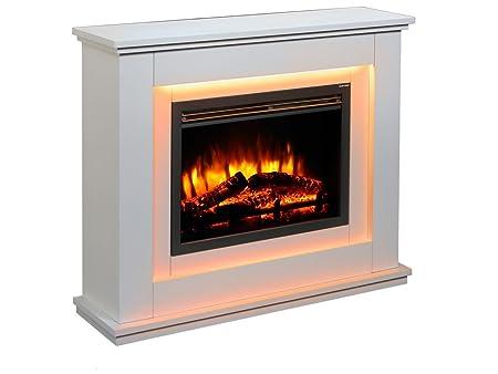 Endeavour Fires Castleton Electric Fireplace Suite Amazoncouk