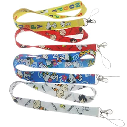 Amazon com : Cute Cartoon Cool Lanyards Key Chain Holder Work Card