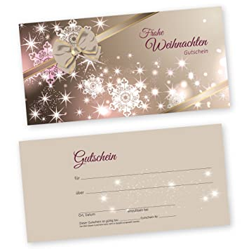 Christmas Beauty Salon.50 Christmas Gift Voucher Cards Xmas Styling For Beauty