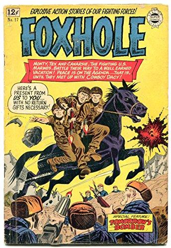Foxhole #17 1964-Korean War comic- Golden Age comic reprint- G/VG