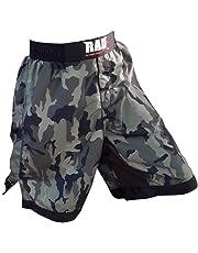 Pantalones cortos 2 Fit MMA para artes marciales mixtas, boxeo, lucha libre, kick