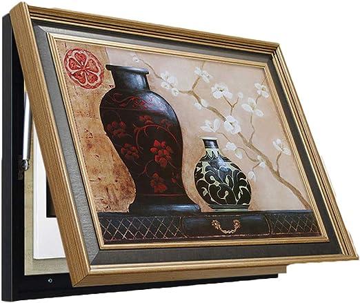 Pintura al óleo, Pintura marco, medidor eléctrico caja de pintura ...