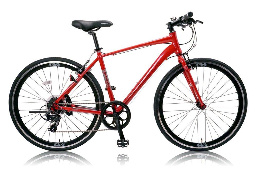 DIAMOND BACK(ダイアモンドバック) 700Cクロスバイク シマノ8段変速 アルミフレーム DB-708AL RED(2015) B00WYQ4XJC