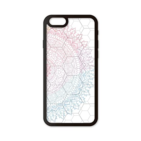Funda móvil iPhone 6/iPhone 6s Mandala Círculo 3D: Amazon.es ...