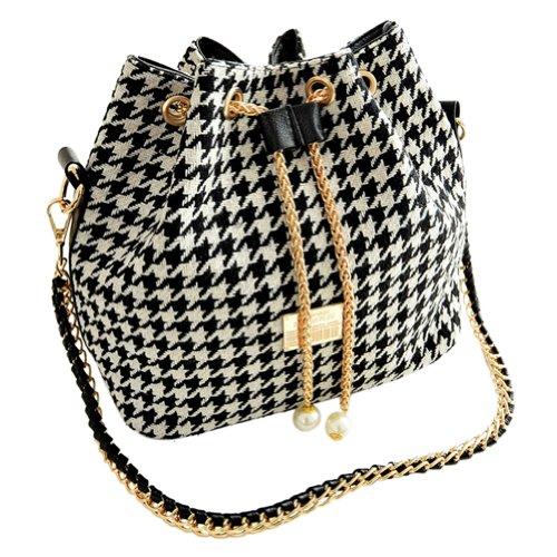 5271dd979826 VonFon Bag Work Place Folk Style Chain Bag Black - Buy Online in ...