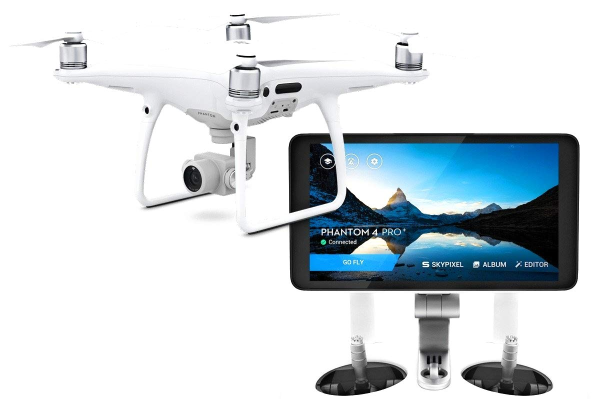 Dji by devicekart Phantom 4 Advanced Plus (With 5 5 Inch Screen)  Quad-Copter Drone With One Extra Battery